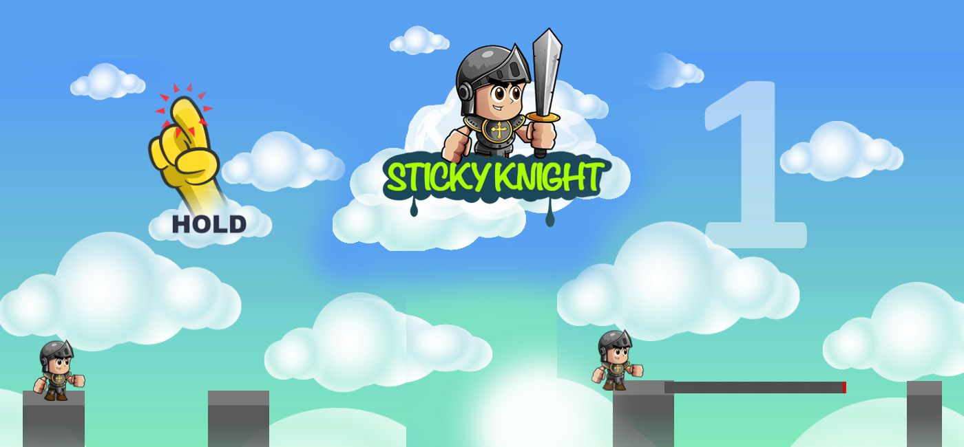 sticky knight - free HTML5 Game by TKoenigs design agency
