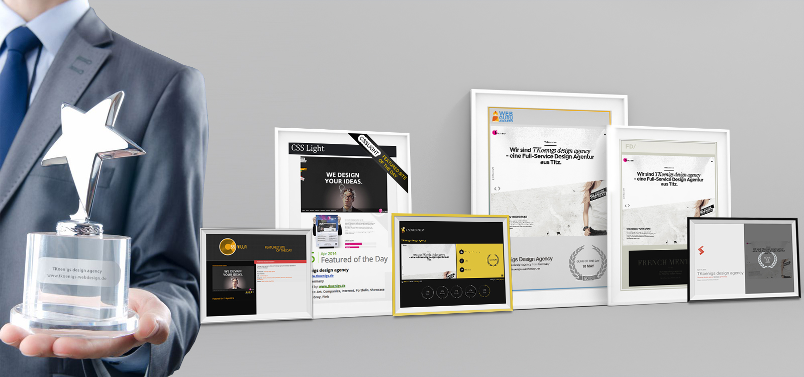 TKoenigs design agency - Webseite des Tages