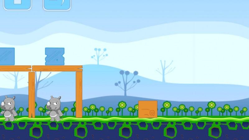 angry giraffes html game