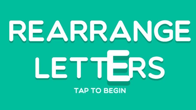 ReArrange Letters