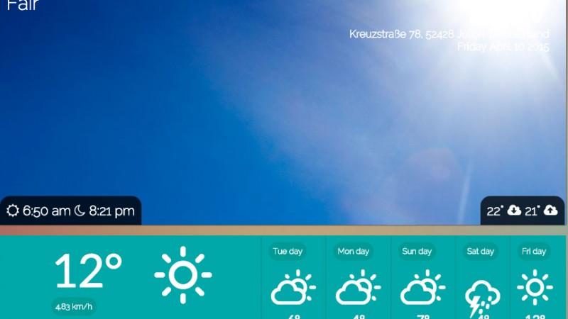 Wetter App